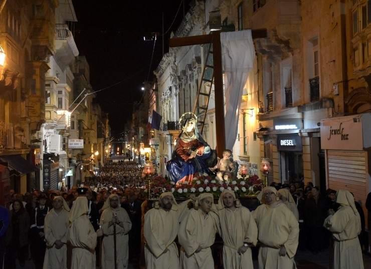 Semana santa en Malta