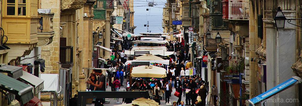 sunday market valeta